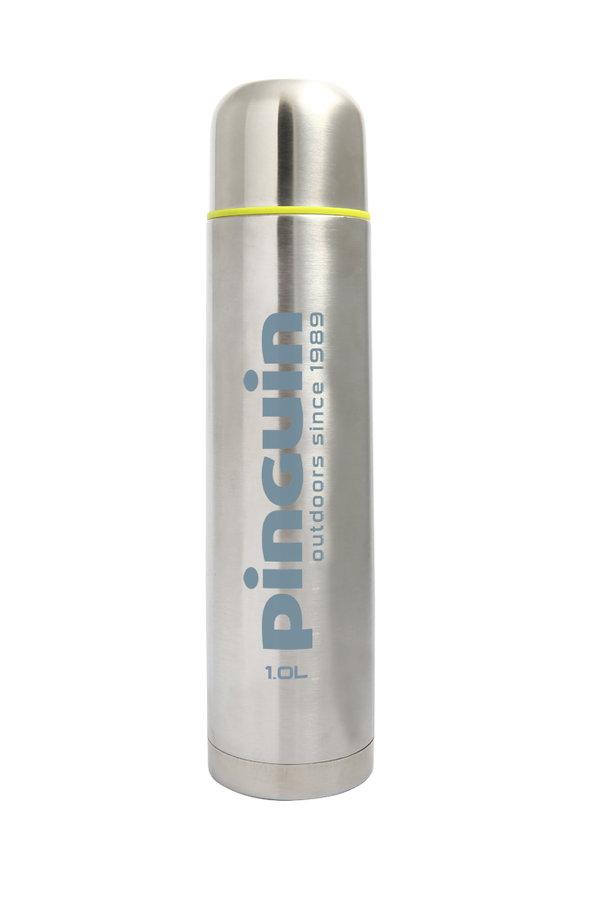 Stříbrná nerez termoska Pinguin Vacuum thermobottle 1.0L - objem 1 l