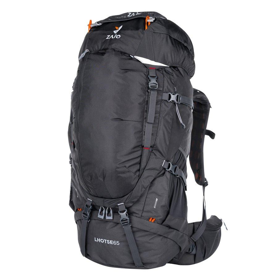 Černý turistický batoh Lhotse 65 Backpack, Zajo - objem 65 l