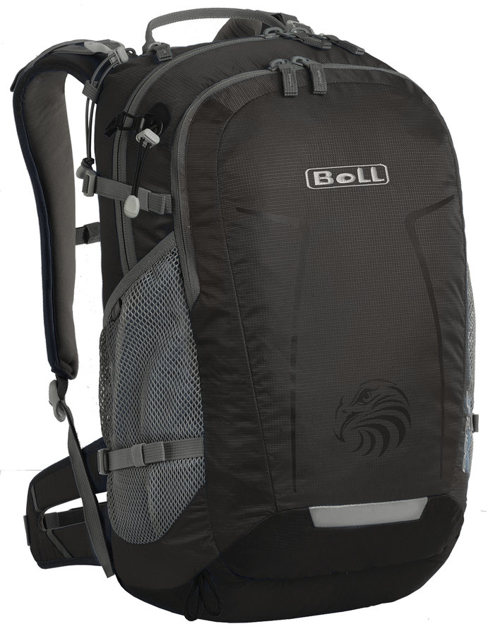 Černý turistický batoh Eagle 24, Boll - objem 24 l