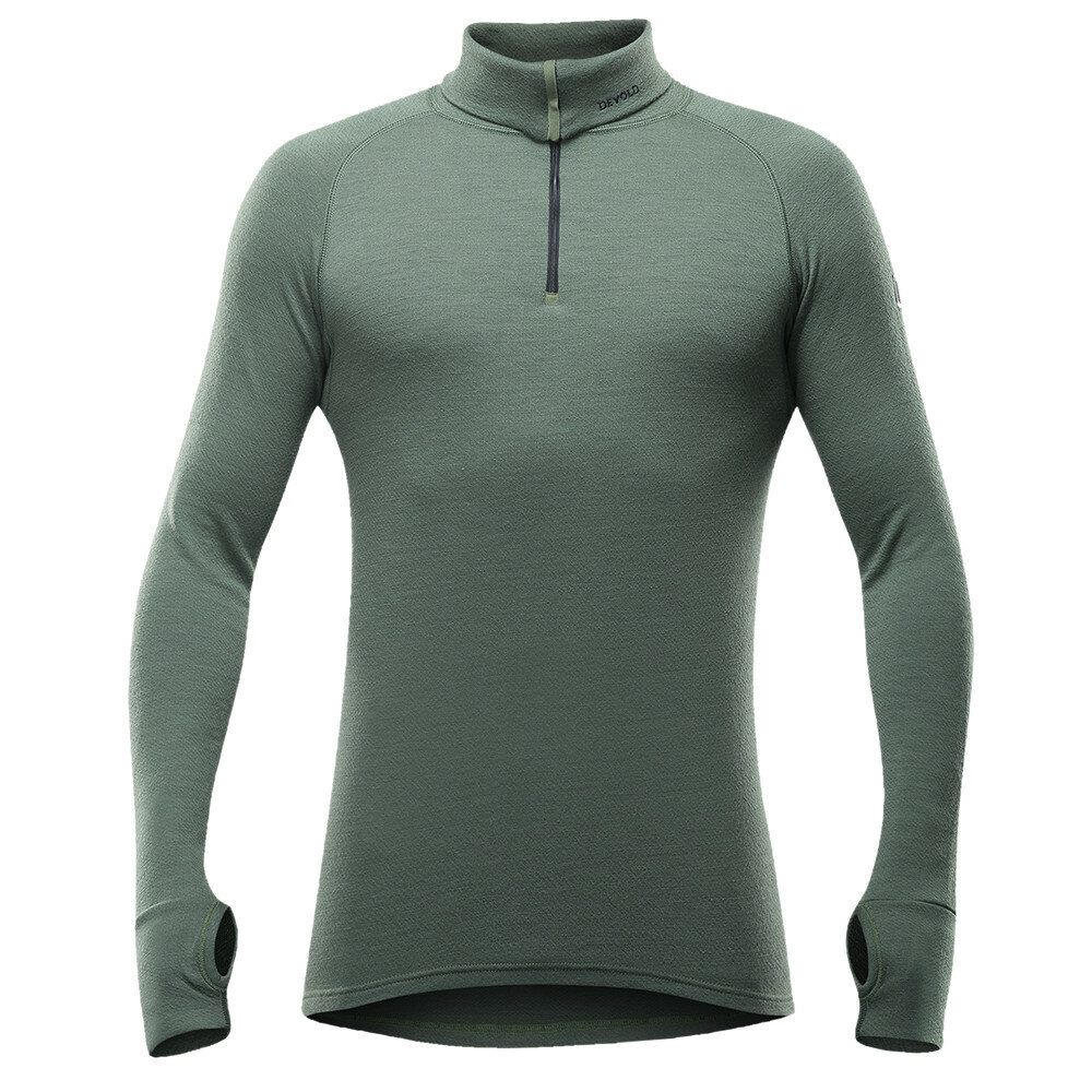 Merino pánské tričko Devold Expedition Man Zip Neck