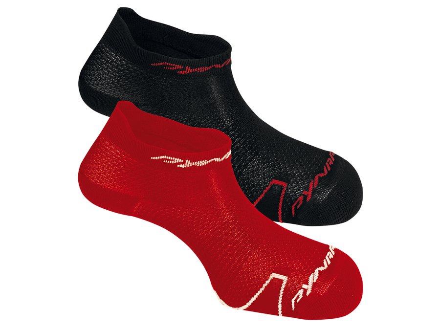Červené pánské ponožky Ultralight Footie, Dynafit - velikost 43-46 EU