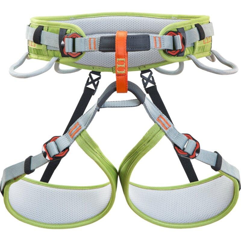 Zelený sedací úvazek Climbing Technology ASCENT HARNESS - velikost M-L