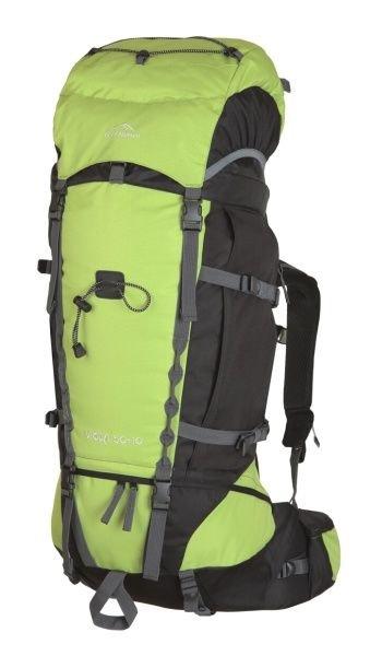 Zelený turistický batoh Vigda 50+10, Fjord Nansen - objem 50 l