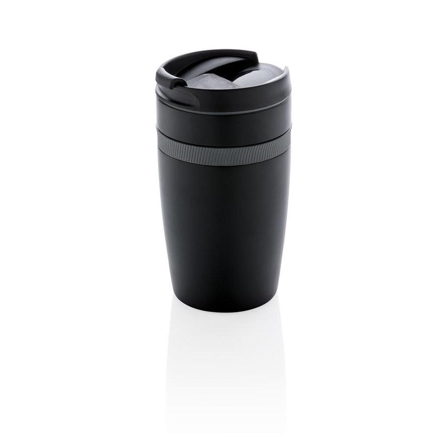 Černý hrnek termo Sierra, XD Design - objem 280 ml