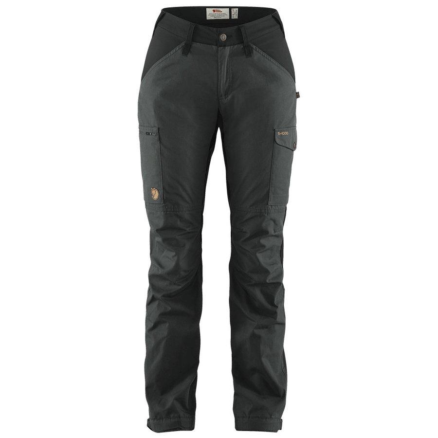 Větruodolné dámské kalhoty Kaipak Trousers Curved, Fjällräven - velikost 38 EU