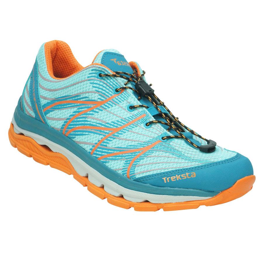 Modré pánské boty nízké Mega Wave, Treksta