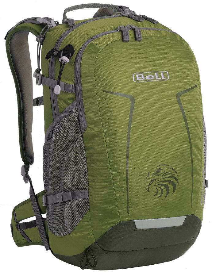 Zelený turistický batoh Eagle 24, Boll - objem 24 l