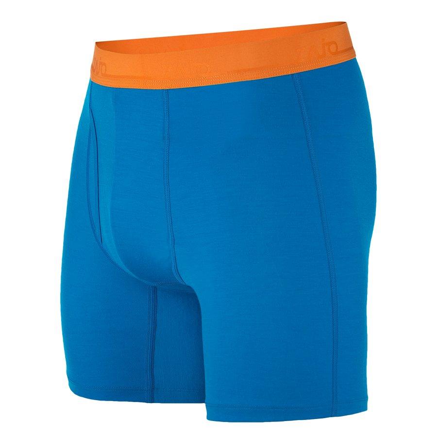 Modré pánské boxerky Bjorn Merino Shorts, Zajo - velikost 3XL