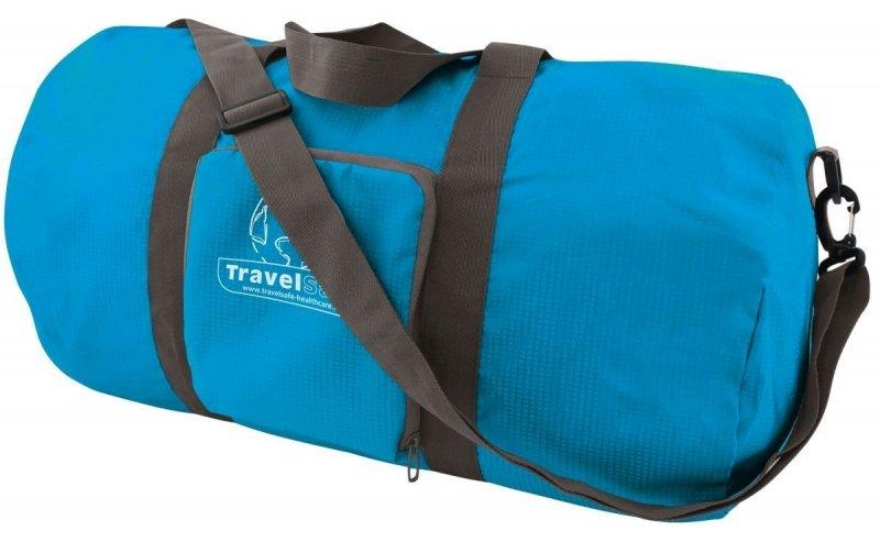 Modrá cestovní taška Duffle Bag, TravelSafe - objem 50 l