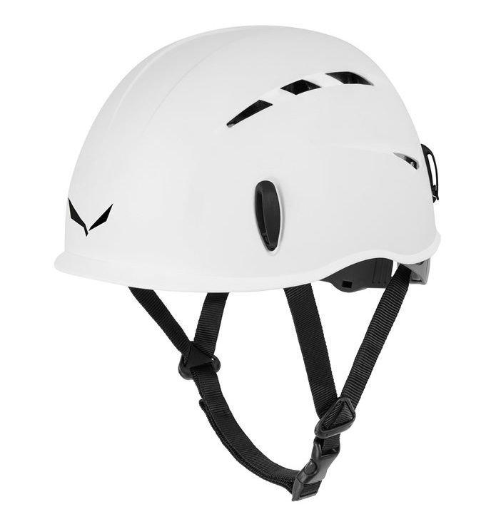 Bílá horolezecká helma Toxo, Salewa