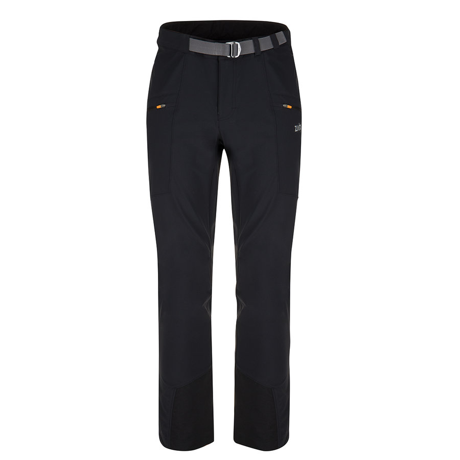 Černé softshellové pánské kalhoty Air LT Neo Pants, Zajo - velikost L