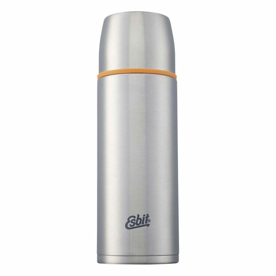 Stříbrná nerez termoska Esbit, Climbing Technology - objem 1 l