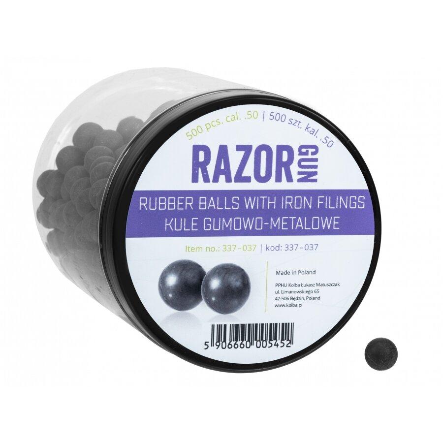 Kuličky RAM gumovo ocelové RazorGun 0.5 500 ks