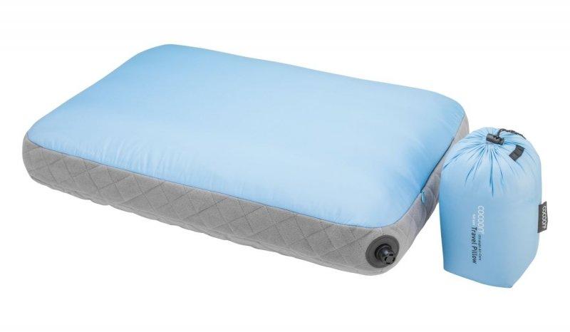 Nafukovací polštář Ultralight Air-Core light blue, Cocoon
