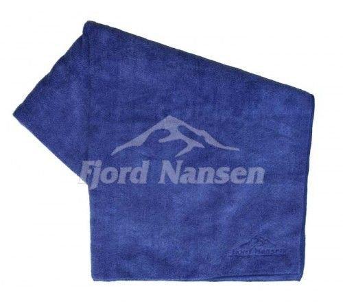 Modrý rychleschnoucí ručník Frota, Fjord Nansen - velikost XL a 150x63 cm