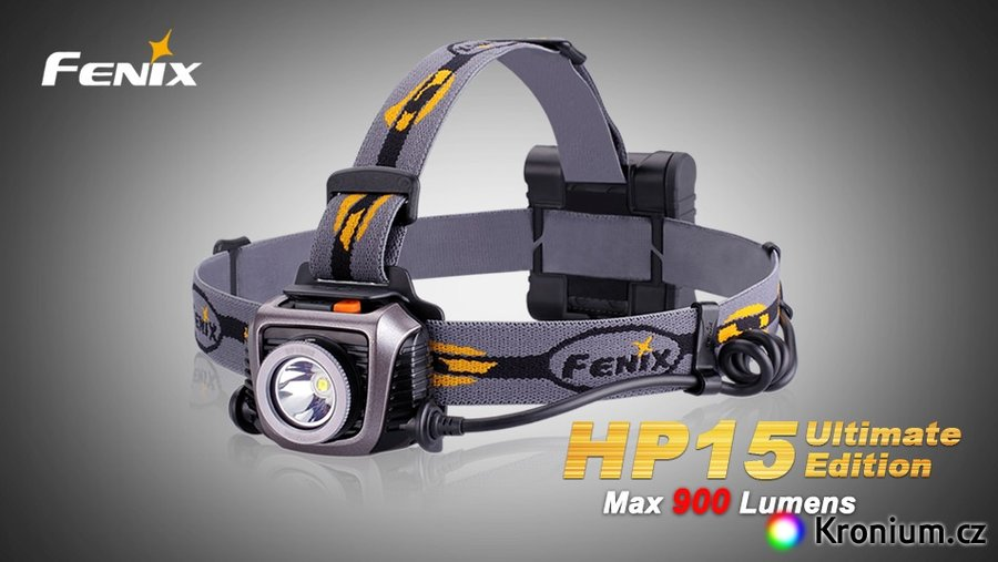 Čelovka HP15 Ultimate Edition, Fenix