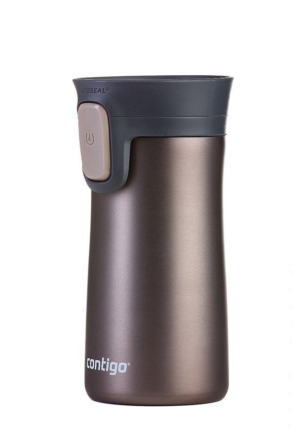 Hnědá termoska Autoseal TS Pinnacle 300, Contigo - objem 0,3 l