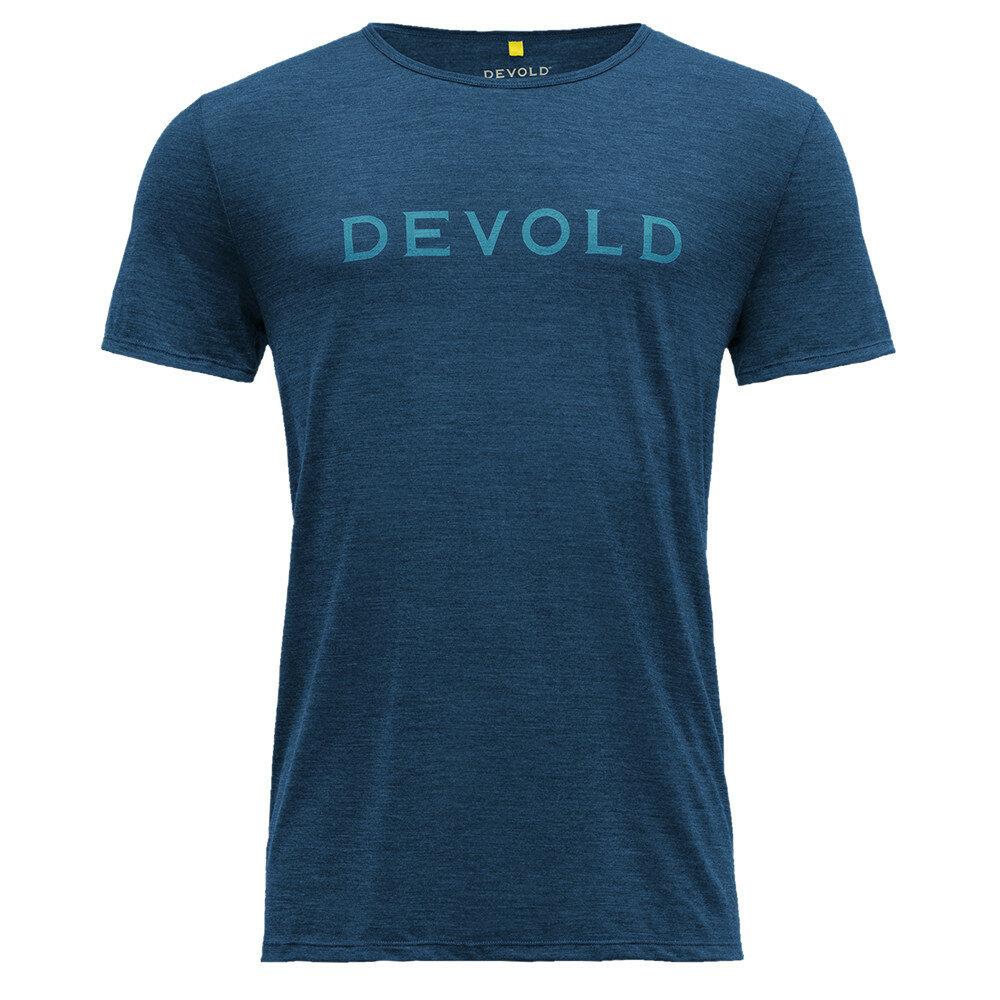 Merino tričko Devold LANGEVAG MEN TEE - velikost S