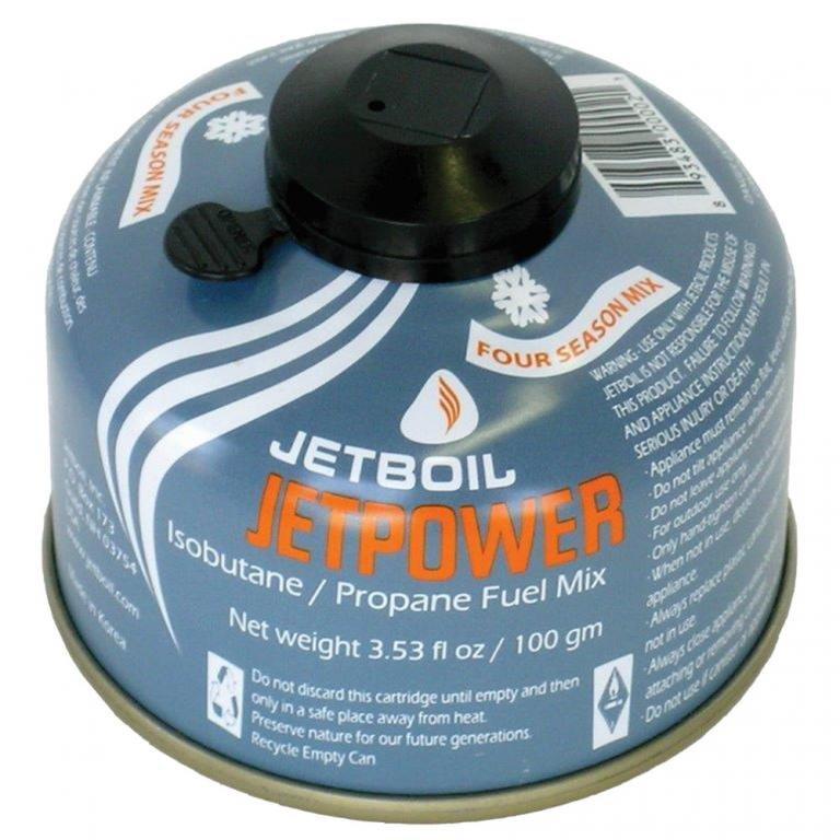 Plynová kartuše Jetpower Fuel, Jetboil