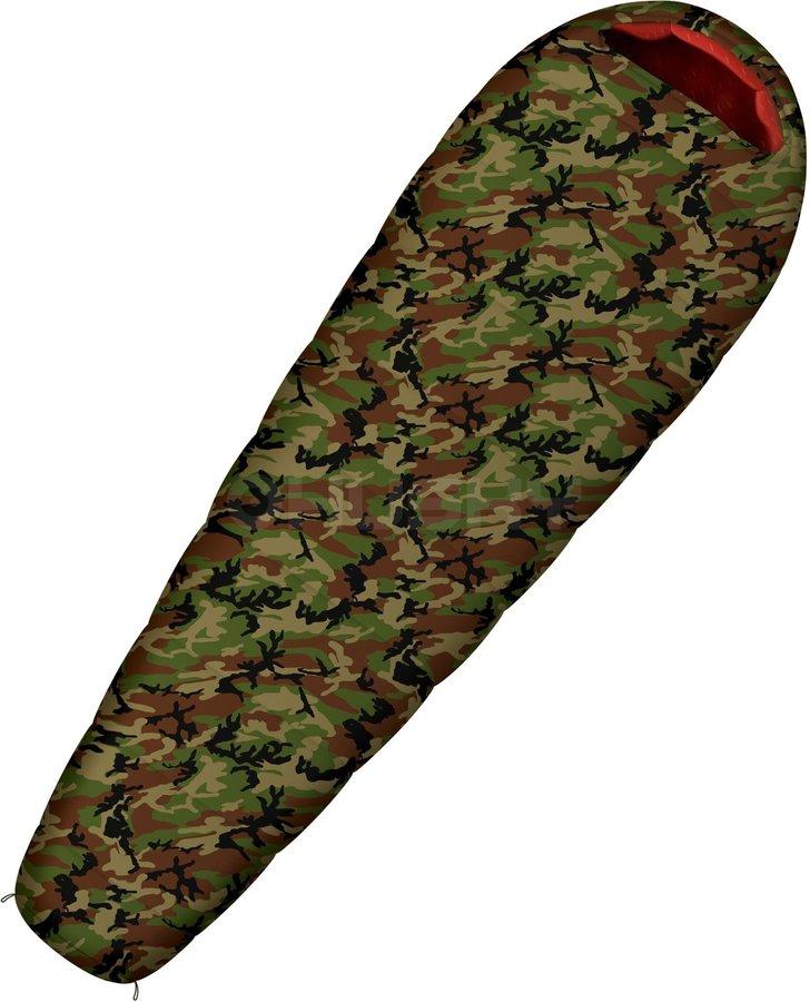 Zimní spacák Army -17°C, Husky