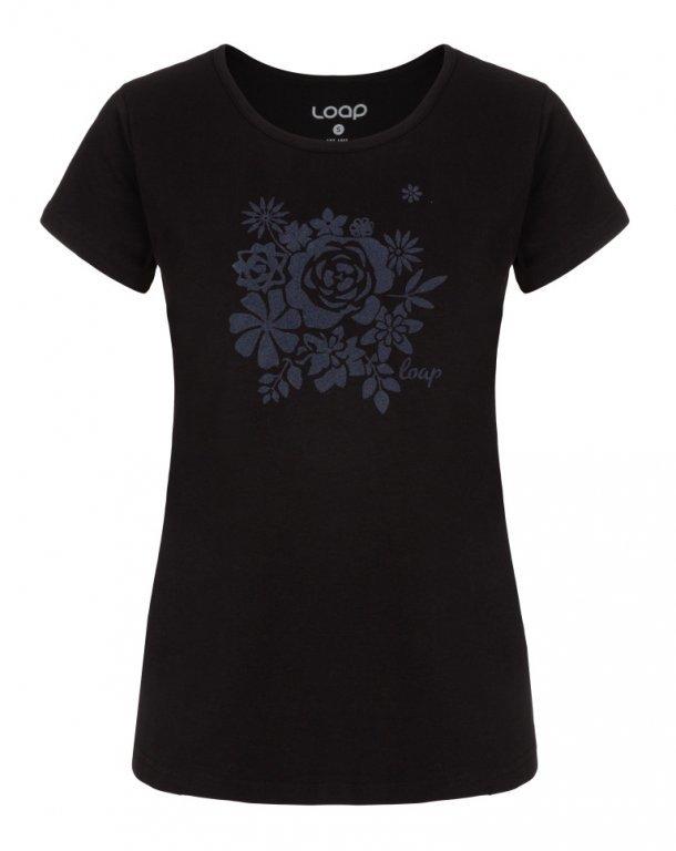 Černé dámské tričko ANICKA, Loap - velikost S