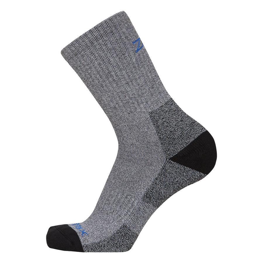 Šedé ponožky Mountain Socks Midweight Neo, Zajo - velikost L