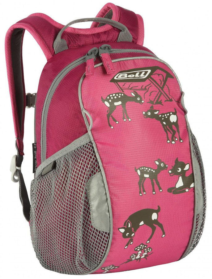 Růžový dětský batoh Bunny 6, Boll - objem 6 l