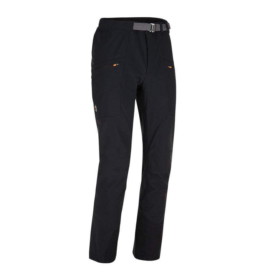 Černé softshellové pánské kalhoty Air LT Neo Pants, Zajo