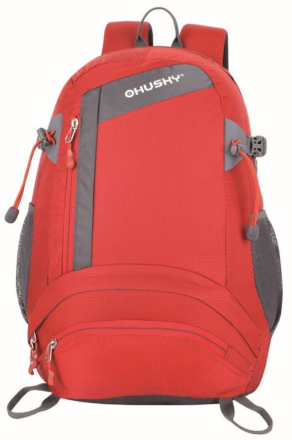 Červený turistický batoh Stingy 28l, Husky - objem 28 l