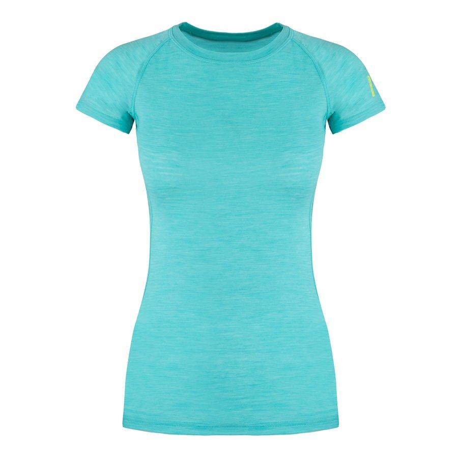 Merino dámské tričko Elsa Merino W Tshirt SS, Zajo - velikost M