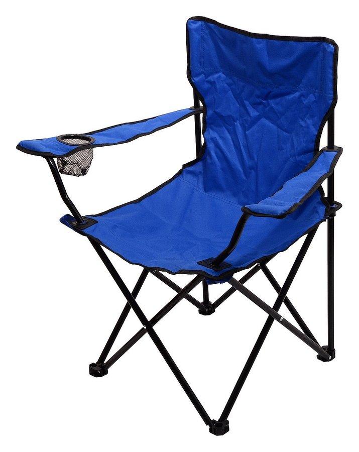 Modrá skladací židle Cattara BARI
