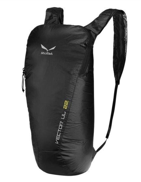 Černý turistický batoh Vector UL 22l, Salewa - objem 22 l