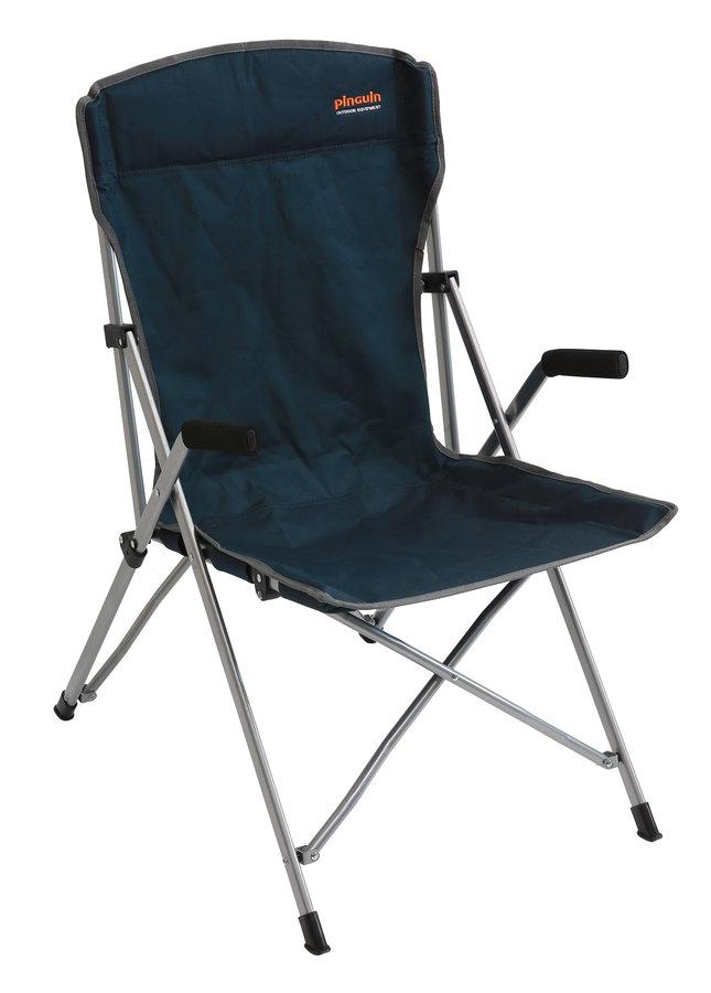 Modrá skladací židle Pinguin Guide chair