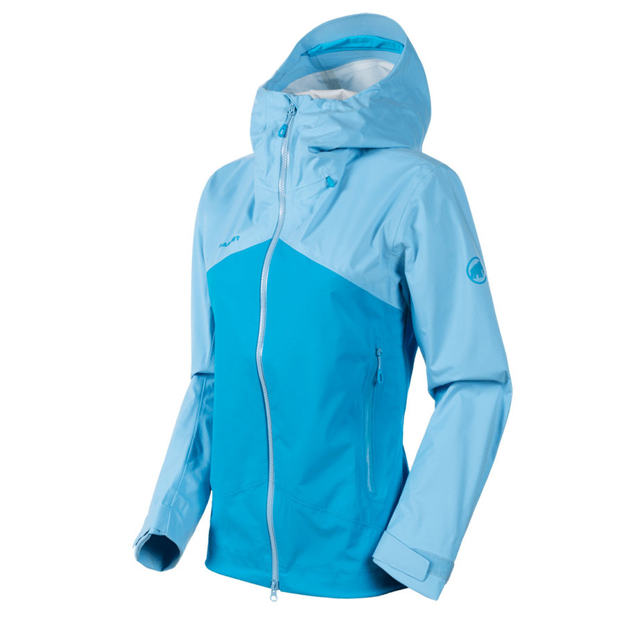Nepromokavá bunda Kento HS Hooded Jacket Women, Mammut - velikost L