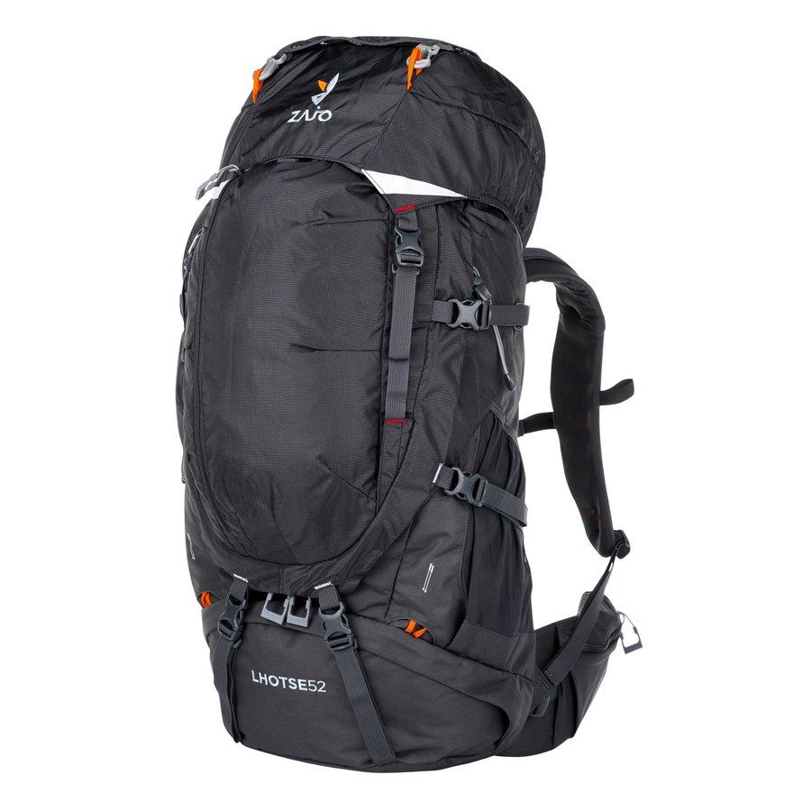 Černý turistický batoh Lhotse 52 Backpack, Zajo - objem 52 l