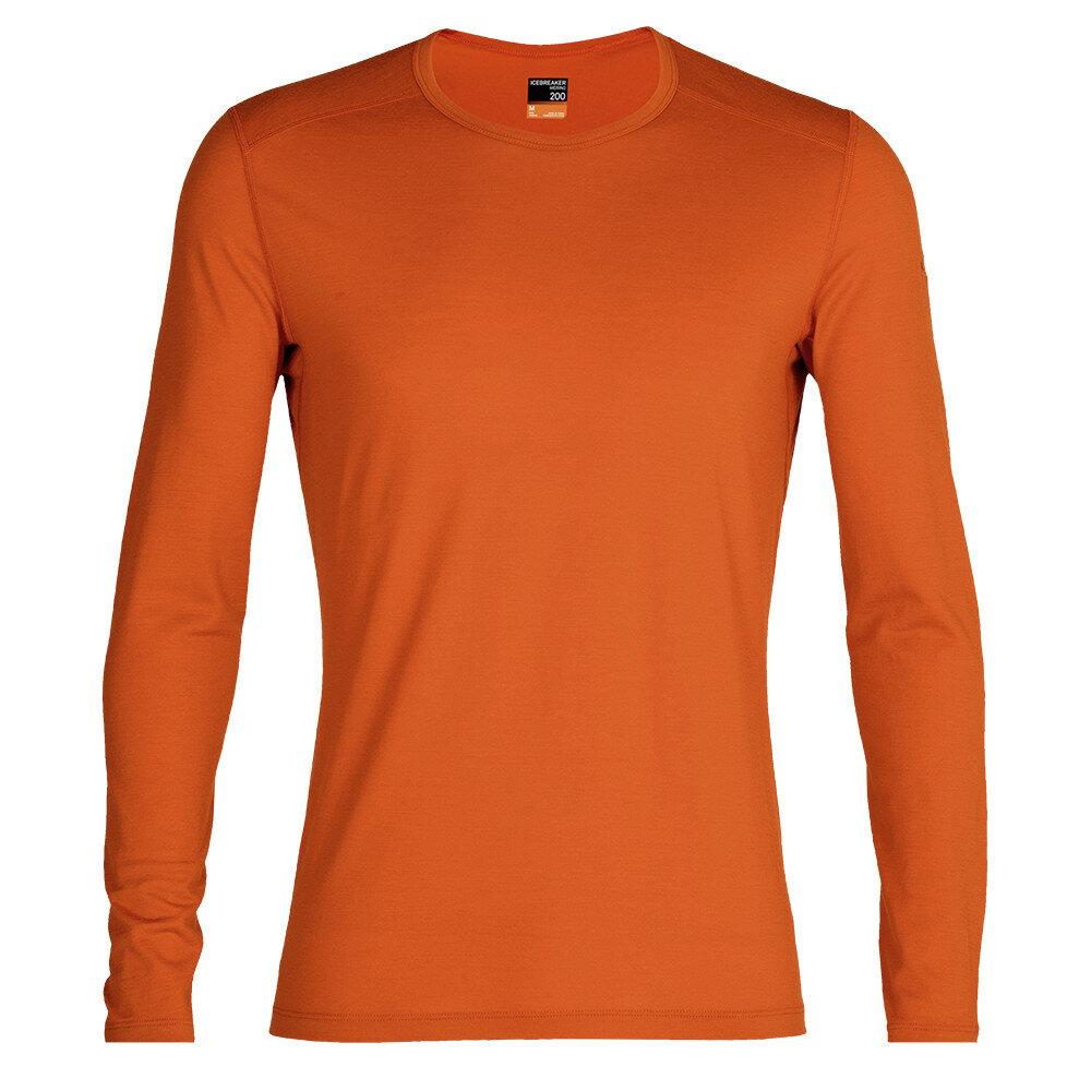 Merino pánské tričko Icebreaker 200 Oasis LS Crewe - velikost S