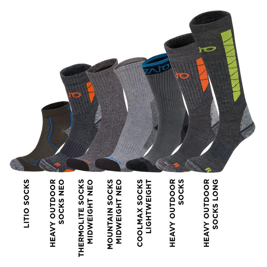 Šedé ponožky Litio Socks, Zajo - velikost L