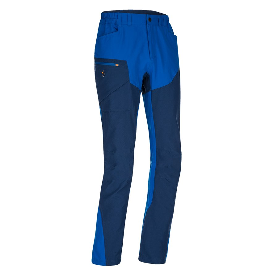 Modré turistické pánské kalhoty Magnet Neo Pants, Zajo - velikost M