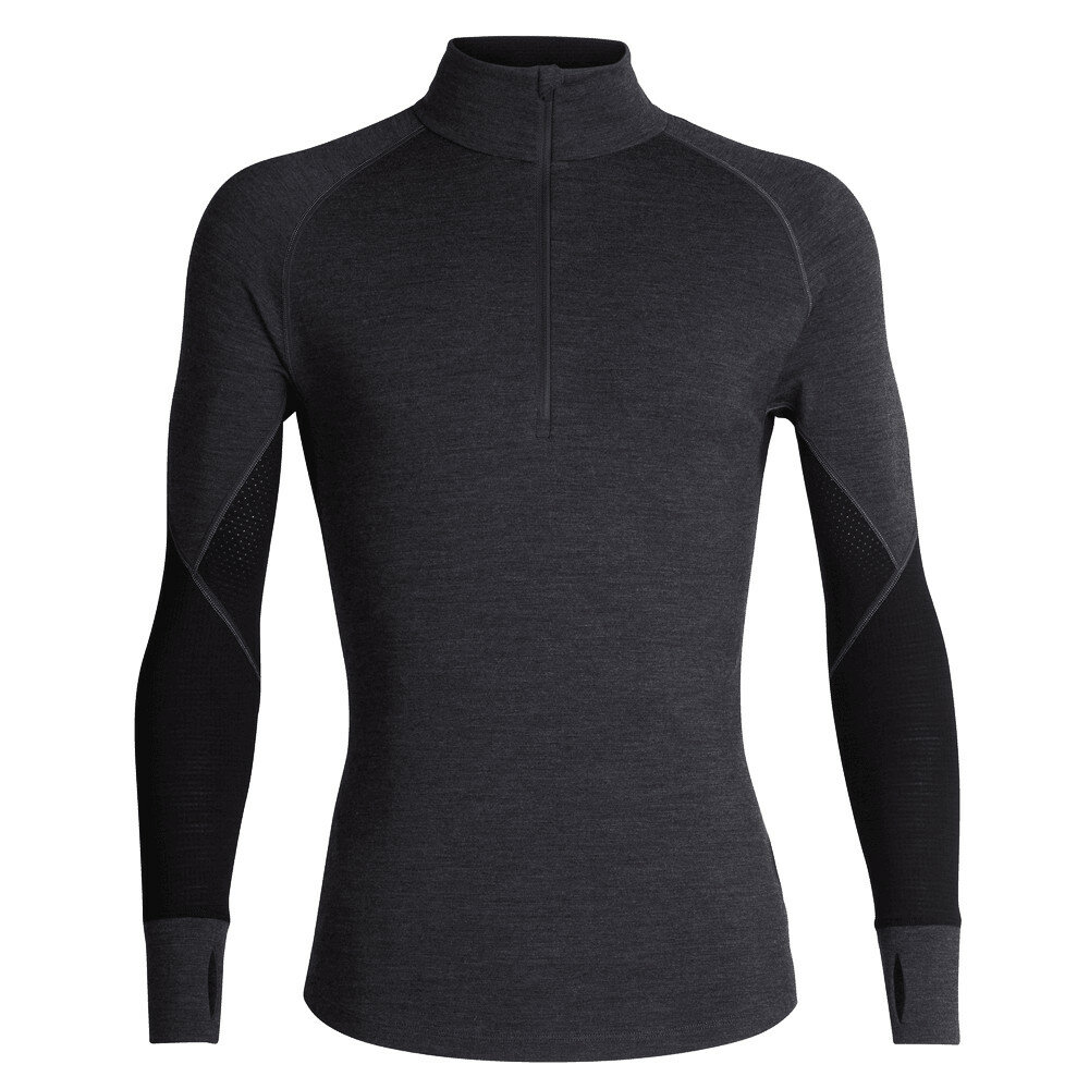 Merino pánské tričko Icebreaker 260 Zone LS Half Zip - velikost XL