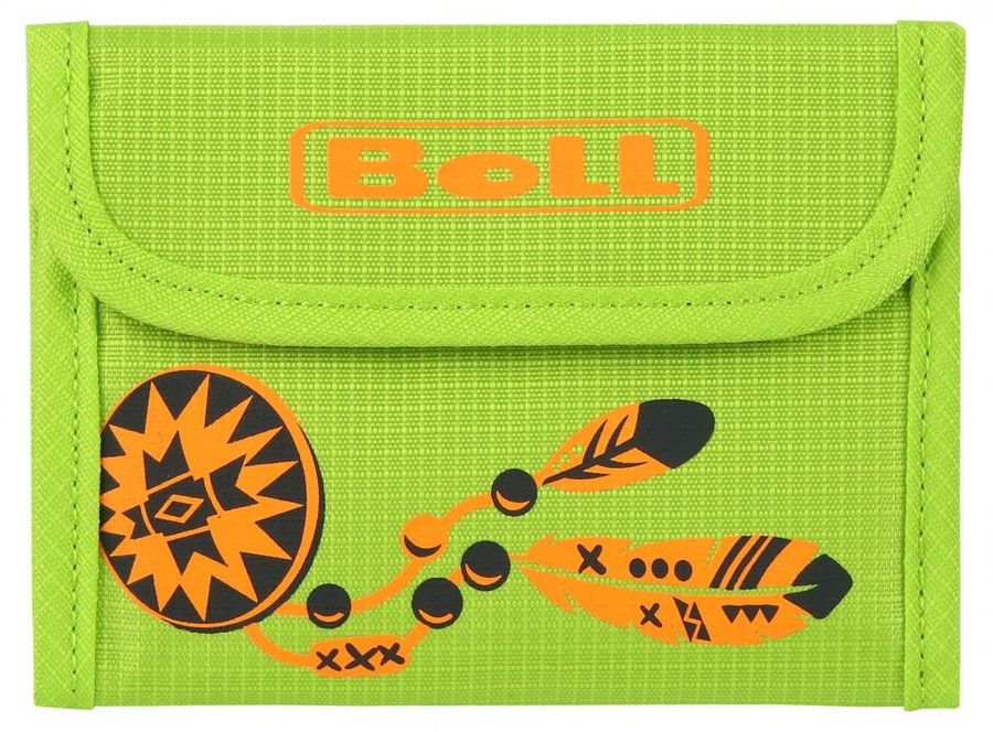 Zelená dětská peněženka Kids Wallet, Boll