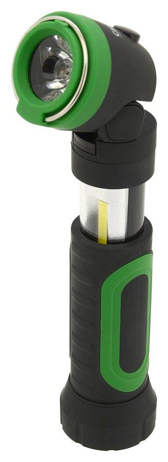 Ruční svítilna LED 100/200lm CAMPING, Cattara