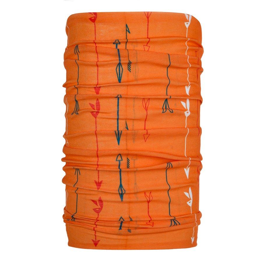 Oranžový funkční šátek Unitube, Zajo