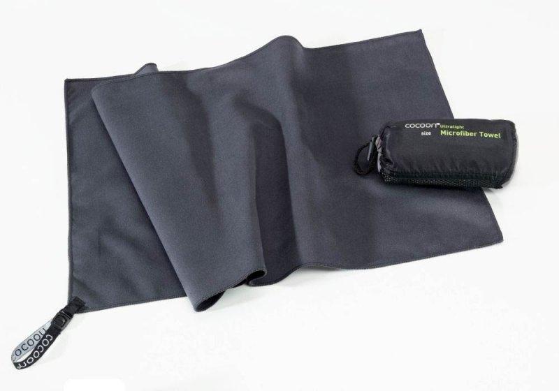 Šedý rychleschnoucí ručník Cocoon - velikost S