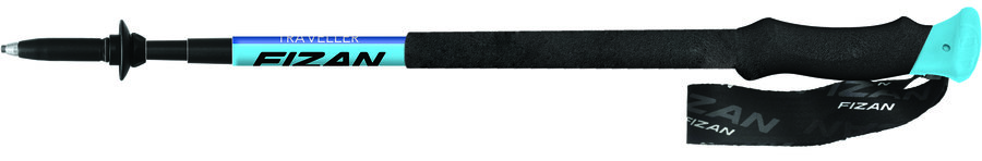 Trekové hole Traveller + bag, Fizan - délka 125 cm