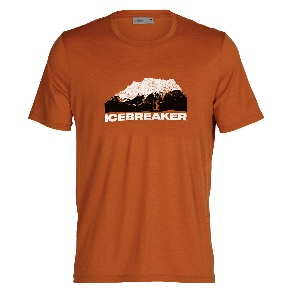 Merino pánské tričko Icebreaker T-Lite II SS Tee Icebreaker Mountain