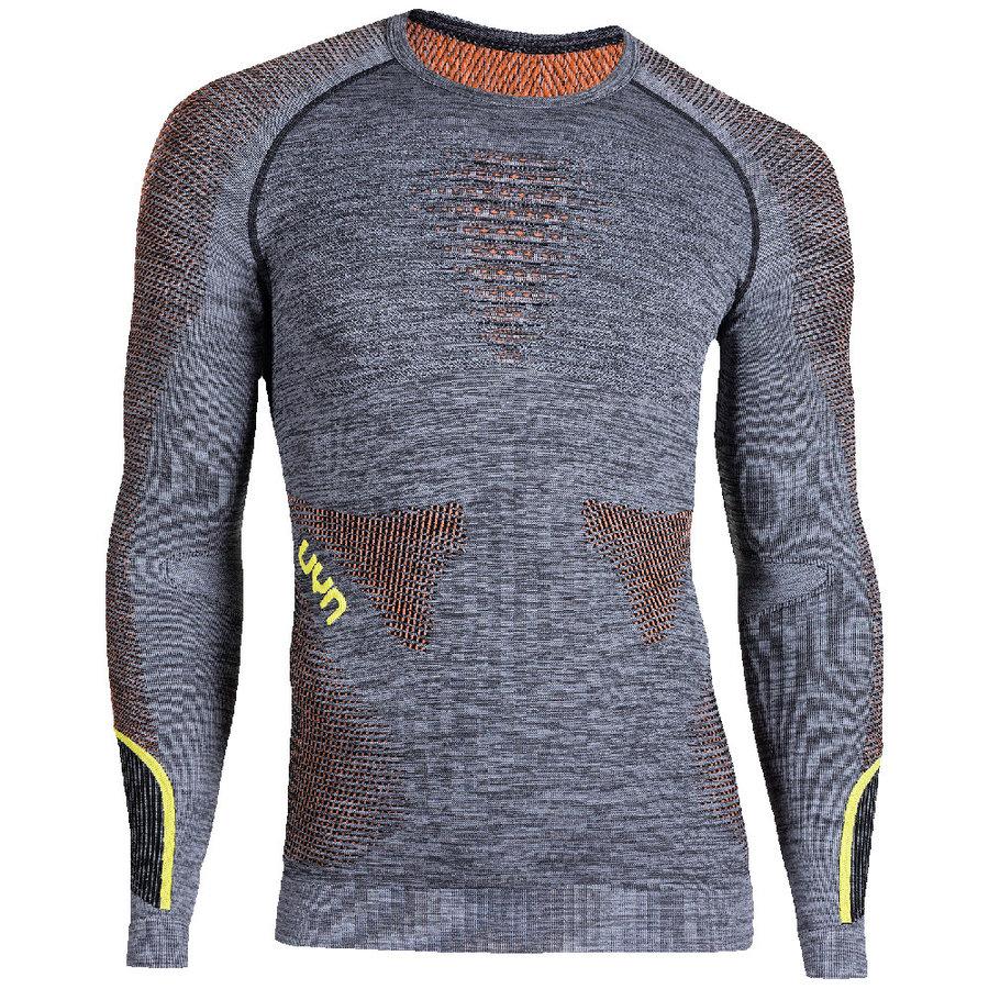 Pánské tričko UYN AMBITYON UW SHIRT LS MELANGE MEN - velikost L-XL