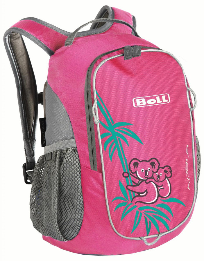 Růžový městský dětský batoh KOALA 10, Boll - objem 10 l