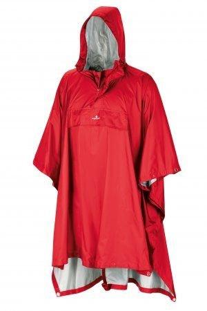 Červené pončo TODOMODO RP, Ferrino - velikost XL