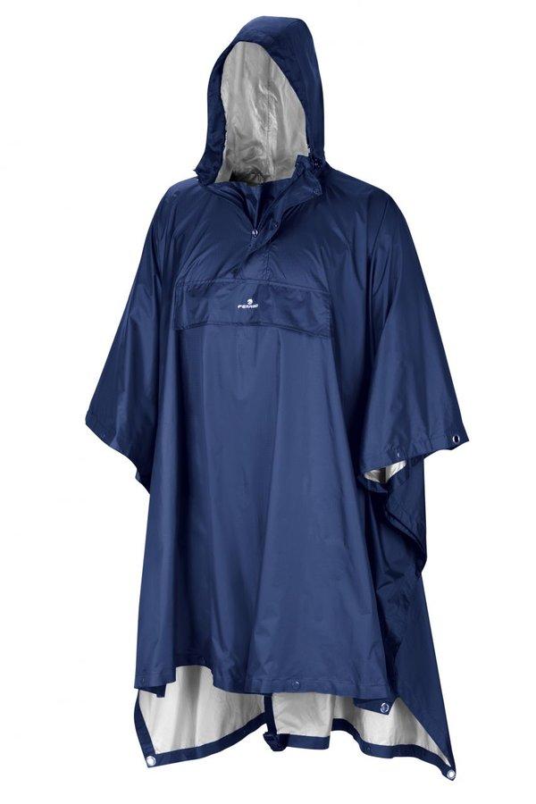 Modré pončo TODOMODO RP, Ferrino - velikost XL
