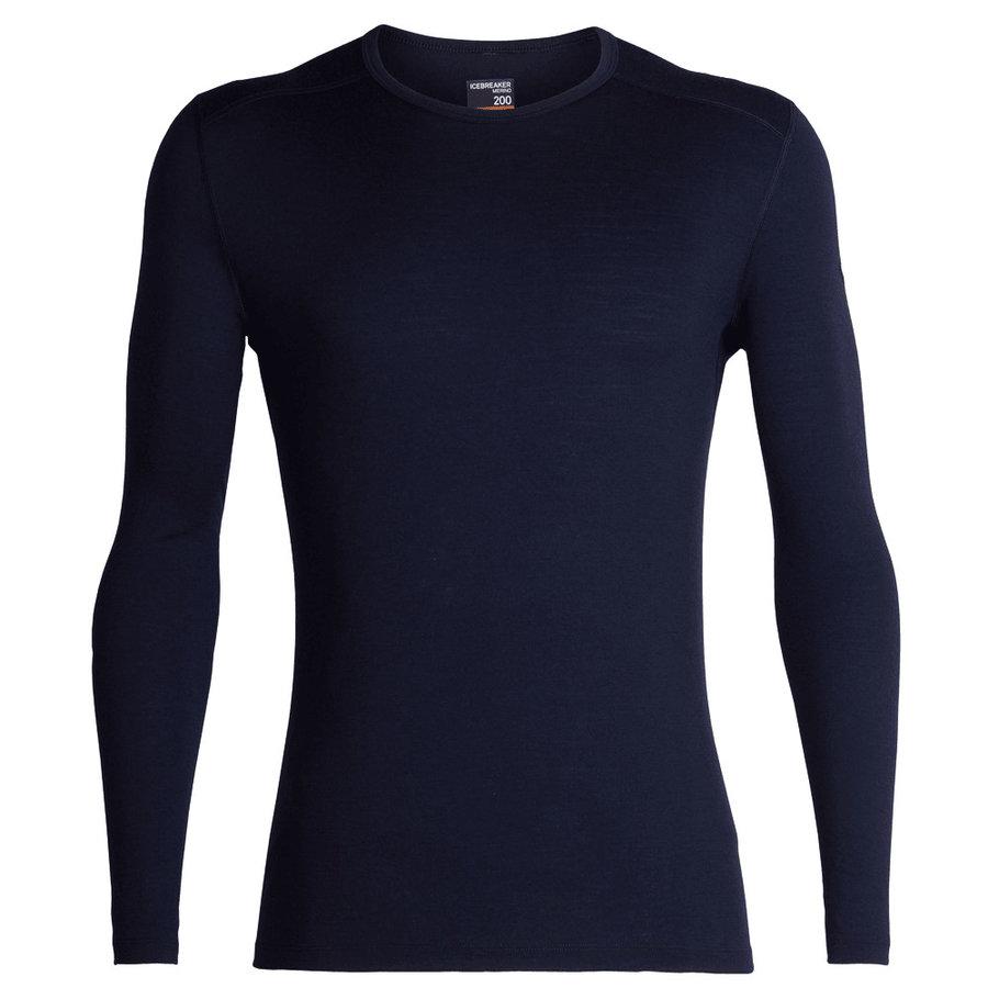 Merino pánské tričko Mens 200 Oasis LS Crewe, Icebreaker
